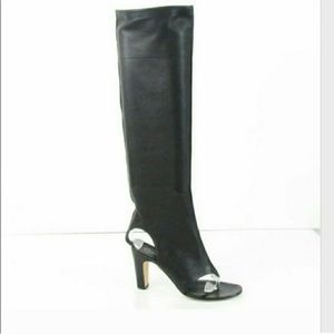 Like New Runway Chanel Over The Knee-High boots